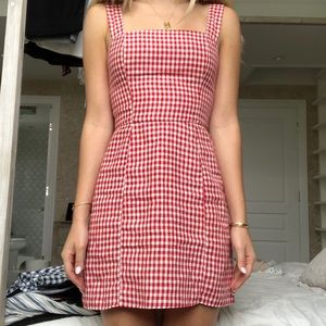 Reformation Gingham Dress